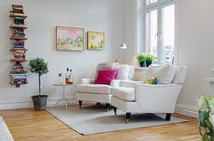 Piso de la semana: diseño sueco lleno de color | Decorar tu casa es facilisimo.com