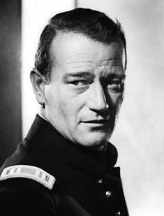 JOHN WAYNE CLOSE UP PHOTO from the 1948 film FORT APACHE