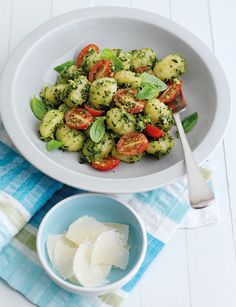 Summer gnocchi with avocado pesto and tomatoes - Sainsbury's Magazine