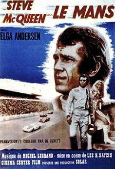 """Steve McQueen and Elga Anderson in """"Le Mans"""" 1971"""