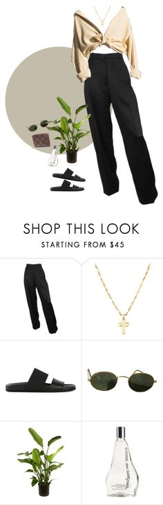 """""""She's gotta have it"""" by puno266 ❤ liked on Polyvore featuring Helmut Lang, Ray-Ban, Comme des Garçons and Louis Vuitton"""