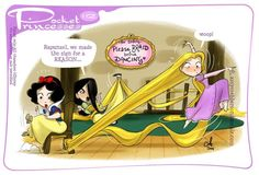 Pocket princesses 112-I think that sign is only for Punzie LOL