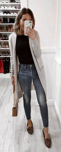 822be5ed6a I just ordered this duster and have the rest!! Fall Outfits 2018