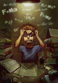 Exam Fever by KaelNgu on DeviantArt Black Background Wallpaper, Anime Scenery Wallpaper, Cartoon Background, Exam Dp For Whatsapp, Whatsapp Dp Images, Exam Quotes Funny, Exams Funny, Exam Time Dp, Exam Wallpaper