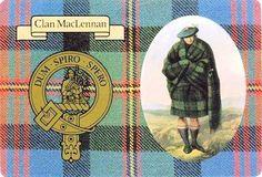 bolsa De Regalo Scottish Robertson Tartan Mancuernas