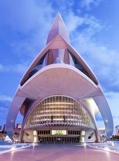 The Palau Des Les Arts - David Clapp Photography -- Opera House, Valencia, Spain