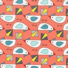 Mark Hordyszynski - Birds of a Feather - Tweet in Coral
