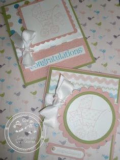 Cards, Stampin' Up!, Baby Card   snowmanlover.blogspot.com