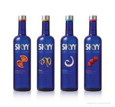 SKYY Infusions. Designed by Turner Duckworth.