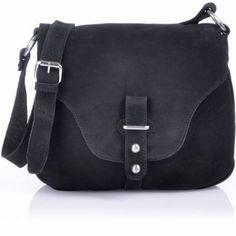 MASQUENADA, Contemporary, Women, Sling Bags, Saddle Bags, Flap Bags, Crossover Bags, Crossbags, Handbags, Shoulder Bags, Nubuck Leather, Bla...