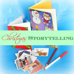 DIY Christmas Storybook with Printable Story Starters « Imagination Soup | Fun Learning and Play Activities for Kids