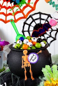 Fun Ideas for a Fall Barbecue. Host an outdoor Halloween party with these frightfully fun ideas for spooky decorations, creepy food, and festive games. Outdoor Halloween Parties, Halloween Party, Fall Party Themes, Party Ideas, Candy Buffet, Outdoor Entertaining, Party Party, Christmas Ornaments, Games