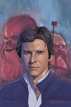STAR WARS #4 Variant Cover for Books-A-Million by Phil Noto
