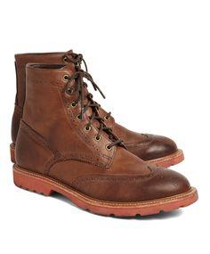 Brooks Brothers | Vintage Wingtip Boots $398