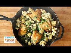 Chicken with Cauliflower and Parsley - Everyday Food with Sarah Carey (+...