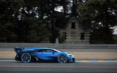 Bugatti Vision GT Concept side view