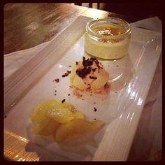 Panna cotta, done in a three piece dessert style. :) - @marcuspang- #webstagram