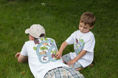 How cool would this be for a Father's Day gift?  Father and Son Matching Car Shirts or Onesie. Fathers Day Gift