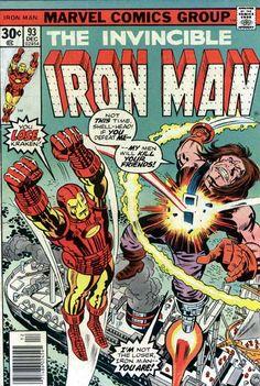 Iron Man #93 Marvel Comics