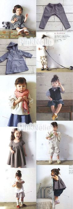 80 90 Cm Tall Cute Little Girls Clothes Japanese by PinkNelie