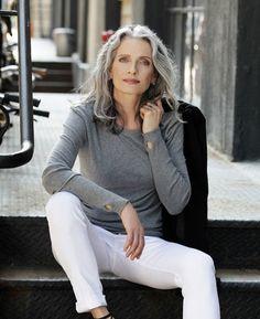 Penteado para mulheres mais velhas