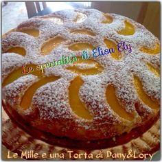 Le Mille e una Torta di Dany&Lory: Torta soffice con gocce di cioccolato e pesche sciroppate