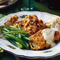 100 Best Southern Food Recipes (Fried Pork Chops with Gravy shown here) Southern Living