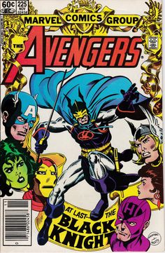 Avengers 225 November 1982 Issue Marvel Comics by ViewObscura