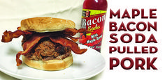 maple bacon soda pulled pork