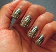 Exterminate! Dalek nails. #doctorwho