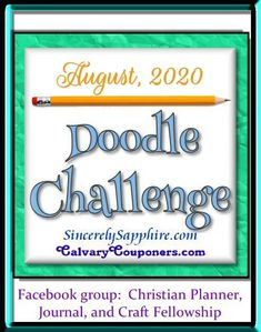 Doodle Challenge for August 2020 -Back to School | Sincerely, Sapphire