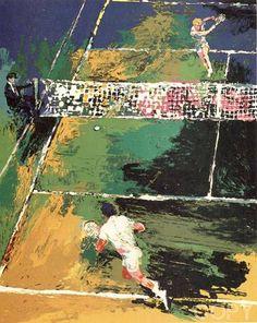 Tennis Match, Sport Tennis, Soccer, Leroy Neiman, Match Point, Sports Images, Racquet Sports, Roger Federer, Art Google