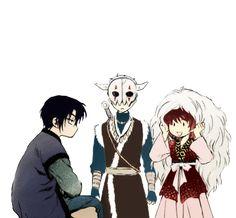 Akatsuki NO Yona Hak Yona and SHIN AH