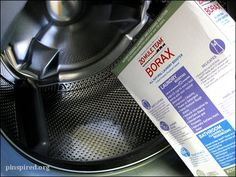 ✥ Clean Your Front Loading Washer with Borax. Brilliant! - why didn't I think of this?