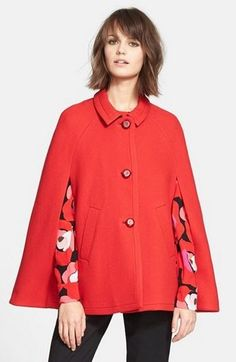 CAPES (Real World) - kate spade new york wool capelet