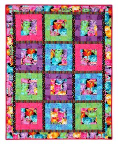 My Favorite Things Quilt Pattern FD-508 by Friendship Designs. Advanced beginner, block baby or lap and throw quilt.