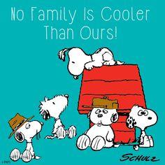 Snoopy's family.