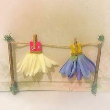 Fairy Washing Line Fairy Door Fairy Garden Miniature Accessory