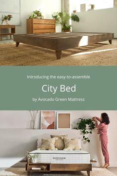 Home Decor Furniture, Home Decor Bedroom, Bed City, Homemade Beds, Mattress Frame, Bed Frame Design, Platform Bed Frame, Douglas Fir, Walnut Stain