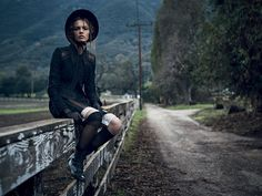 """A mysterious beauty...     VOGUE RUSSIA   MARCH 2015          """"Tale Of Wandering"""":     Model: Mina Cvetkovic   Photography: Nathaniel G..."""