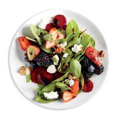 Balsamic, Beet, and Berry Salad - Great Summer Salads - Cooking Light