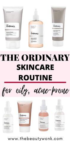 Moisturizer For Oily Skin, Oily Skin Care, Acne Prone Skin, Anti Aging Skin Care, Facial For Oily Skin, Dry Skin, Best Skin Care Regimen, Basic Skin Care Routine, Oily Skin Routine