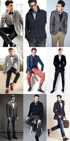 Men's Bow Tie Outfit Inspiration Lookbook, would like to dress my boys like this