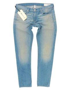 db06b399374  220 NWT rag   bone JEAN The Dre Boyfriend Skinny Jeans in Green Cast Size  29