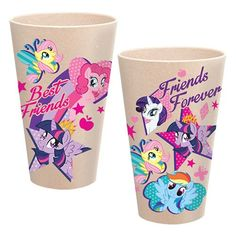 MLP: Friendship is Magic 24 oz. Bamboo Tumblers 2-Pack