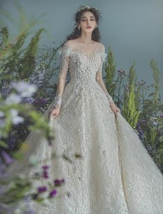 Pretty Prom Dresses, Unique Prom Dresses, Bridal Wedding Dresses, Dream Wedding Dresses, Wedding Attire, Beautiful Dresses, Fancy Dress Design, Iconic Dresses, Elegant Dresses For Women