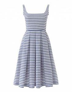 Letní proužkované šaty