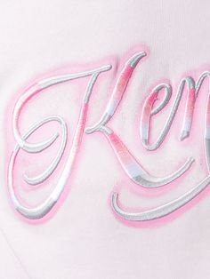 Shop Kenzo signature logo sweatshirt.