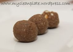 Healthy Gingerbread No Bake Balls (Clean Eating, Gluten Free, Lactose Free & Low Fodmap) -- May need to sub or decrease the maple syrup