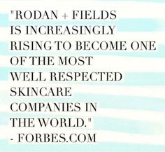 And it's the only Premium Skin Care Company that asks you to partner with them.  Won't you join me?  www.b2ranshaw.myrandf.biz
